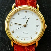 Blancpain Villeret Yellow  Gold 18K 750 Automatic Luxury Mens...