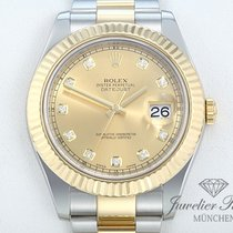Rolex Datejust II 116333 Stahl Gelbgold 750 Diamanten Date Just