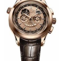 Zenith Class Traveller Open Multicity 18K Rose Gold Men's...