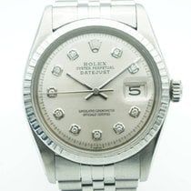 Rolex Datejust 36mm Stainless Steel Gray Diamond Dial Jubilee...