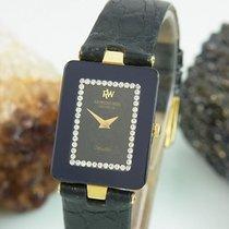 Raymond Weil Othello Diamanten Saphir Glas 18k Vergoldet Ultra...
