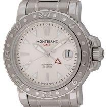 Montblanc : Sport Steel XL GMT :  0008469 :  Stainless Steel