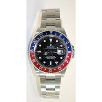 Rolex GMT Master II 16710 Classic Stainless Steel Model with...