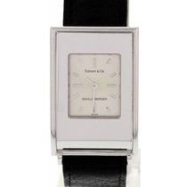 Tiffany & Co. Schlumberger 18k White Gold Ladies Wrist Watch