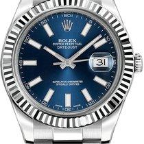 Ρολεξ (Rolex) DateJust II Blue Dial 116334