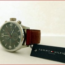 Tommy Hilfiger 1790892 Multifunction Dual Time Date 46mm Steel...
