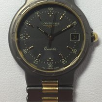Longines Conquest Titanium/gold