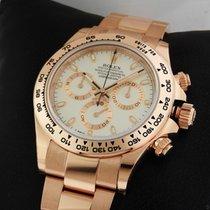 Rolex 116505 Cosmograph Everose Daytona Ivory Dial 18k Rose Gold