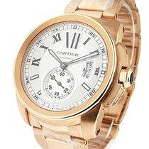 Cartier W7100018 Calibre de Cartier Automatic - Rose Gold on...