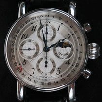 Chronoswiss Gran Lunar Chronograph Stahl Mondphase