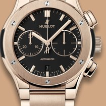 Hublot CHRONOGRAPH GOLD BRACELET  CLASSIC 520OX1180OX