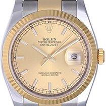 Rolex Datejust Men's 2-Tone Watch 116233 Champagne Dial