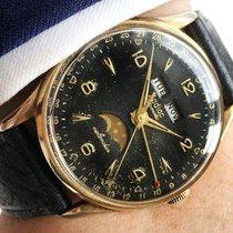 Zodiac Triple Date Datora Calendar Moonphase Automatic black...