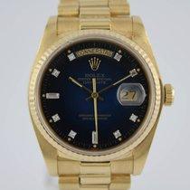 Rolex Day-Date Diamond Dial 18038 #K2918 Box