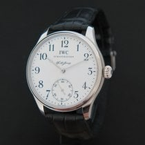 萬國 (IWC) Portuguese F.A. Jones Platina Limited Edition NEW