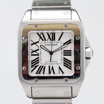 Cartier Santos 100 XL on Bracelet