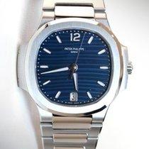 Patek Philippe 7118/1A-001 Ladies Nautilus  35.2 Blue Dial