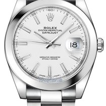 Rolex Datejust 41mm Stainless Steel 126300 White Index Oyster