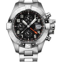 Ball Engineer Hydrocarbon Spacemaster Orbital II DC3036C-SA-BK