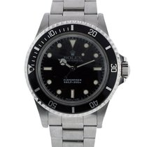 Rolex Submariner 5513 non Date Black Dial Mens Watch