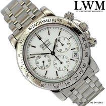 Zenith El Primero 01.0360.400 Rainbow chronograph white dial 2005