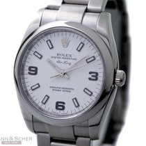 Rolex Air King Ref-114200 Stainless Steel Box Papers Bj-2008...