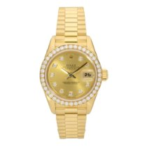 Rolex Datejust 69138 - Lady's Watch - Diamond Bezel &...