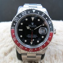 Rolex 1989 ROLEX GMT MASTER 2 16710 (T25 DIAL) COKE BEZEL WITH...