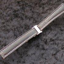 Breitling Haiarmband 16/14mm Schwarz Black Mit Faltschliesse...