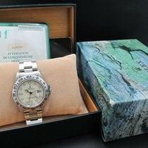 Rolex 1987 ROLEX EXPLORER 2 16550 CREAMY RAIL DIAL WITH BOX...