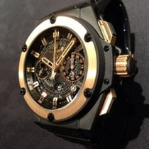 Χίμπλοτ (Hublot) King Power Big Bang / Unico Keramik Rosegold...