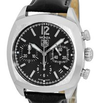 """TAG Heuer """"Monza"""" Automatic Chronograph Strapwatch."""