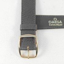 Omega 18 mm grey cow leather Omega band strap bracelet 14mm...
