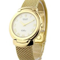 Rolex Used cellini_mens_yg/YG_used Cellini Quartz Mens 6623 -...