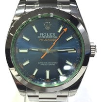Rolex Milgauss Blue Dial 40mm