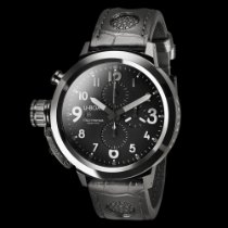 U-Boat FLIGHTDECK 50 BLACK CERAMIC SHINY