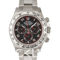 Rolex Daytona Black/18k white gold Ø40mm - 116509