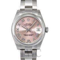 ロレックス (Rolex) Datejust Pink Dial Midsize Oyster Bracelet - 178240