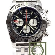 Breitling Chronomat GMT Chronograph 47mm Steel bracelet NEW