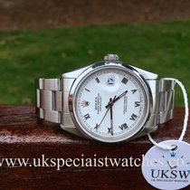 Rolex Datejust Stainless Steel – White Roman Dial – 16200
