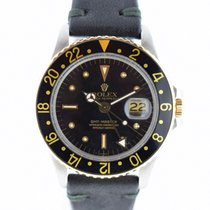 Rolex GMT-MASTER Ref. 1675 Nipple Dial Sthal/Gold TEW