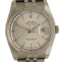 Rolex Datejust Stahl Weißgold Automatik Jubilé Armband 36mm...