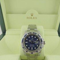 Rolex Submariner  MODEL 116610 Custom Dia Sapphire Bezel &...