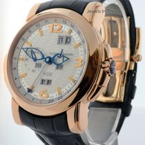 Ulysse Nardin GMT Perpetual 18k Rose Gold Mens Automatic Watch...