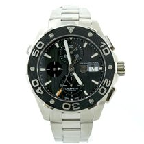 TAG Heuer Mens Tag Heuer Aquaracer Cal 16 Chronograph Stainles...