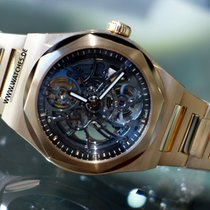Girard Perregaux Laureato Skeleton Rose Gold Automatic -...