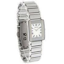Rado Integral Ladies Platinum Ceramic Bracelet Swiss Watch...
