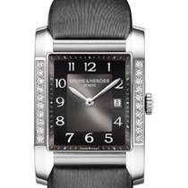 Baume & Mercier MOA10022 Hampton Classic in Steel with...