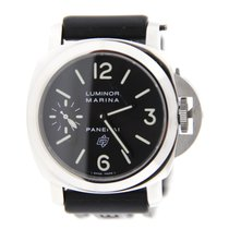 Panerai Luminor Marina Logo Brooklyn Bridge Stainless Steel