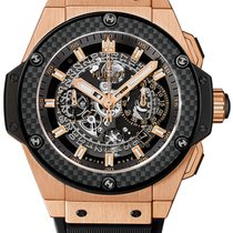 Hublot Men's King Power Unico King Gold Carbon Watch